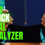 The Quick Deal Analyzer
