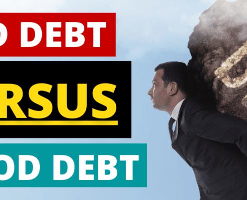 What Is Bad Debt Versus Good Debt?